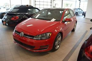 2015 Volkswagen Golf 1.8T Mags 18'' Highline + GPS + cuir + toit