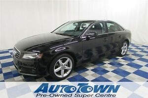 2011 Audi A4 2.0T Premium AWD/SUNROOF/LEATHER/HTD SEATS