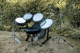 Arbiter Flats Lite Portable / Practice Drum Kit, Good Used Condition