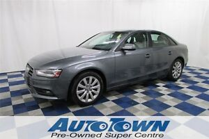 2013 Audi A4 2.0T AWD/ACCIDENT FREE/LTHR/POWER SUNROOF