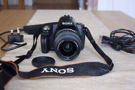 Sony DSLRA290L Alpha Digital SLR Camera with SAL1855 Lens (14.2MP 2.5 inch LCD)