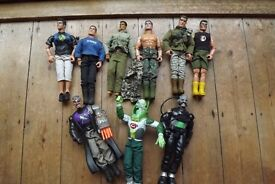 Action men, baddies and lots of equipment