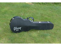 Black USA Gibson Case for Les Paul Guitar