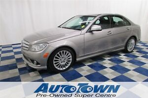 2009 Mercedes-Benz C-Class CLEAN HISTORY/LOW KM/AWD