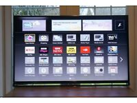 "Panasonic 55"" TX-55AS802B LED 1080p Full HD 3D Internet Smart TV £395"
