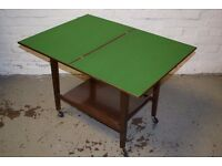 Mahogany Card Table (DELIVERY AVAILABLE)