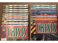 2000 AD Crisis comics