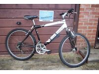 "Concept Mens Hardtail Mountain Bike.18"" Frame.21 Speed. Serviced.All Working. (15.2)"