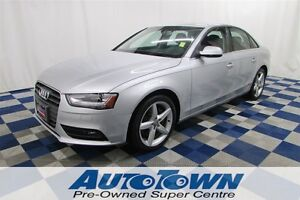2013 Audi A4 Premium Plus AWD/NAV/SUNROOF/REAR CAM/LOW KMS!!