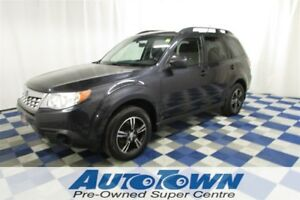 2012 Subaru Forester 2.5X AWD/ACCIDENT FREE/ONE OWNER/HTD SEATS
