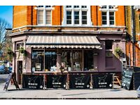 Waiter/Waitress/ Bar staff/Supervisors for busy independent South East London Gastro Pub