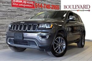 2017 Jeep GRAND CHEROKEE LIMITED TOIT OUVRANT CUIR 4X4