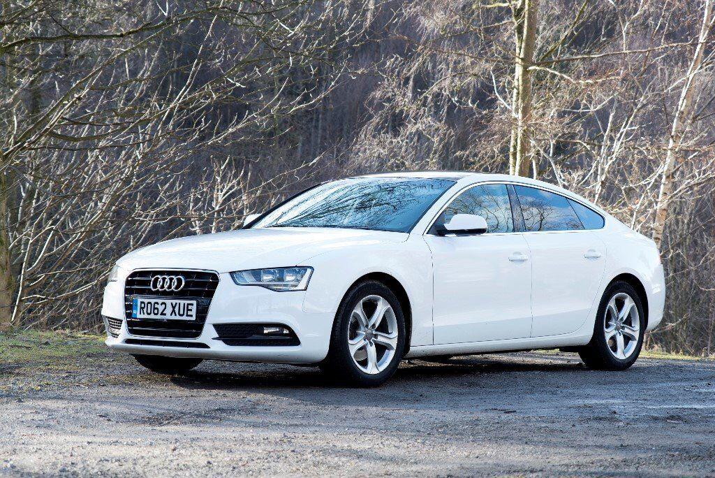 2012 Audi A5 Sportback 20 Tdi Se 177ps White Fsh Mot Leather
