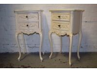 French Style Bedside Cabinets (DELIVERY AVAILABLE)