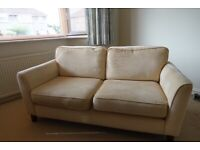 Three piece suite sofa chairs