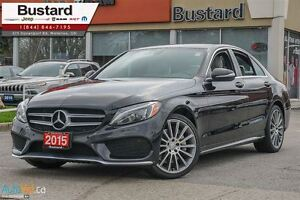 2015 Mercedes-Benz C-Class C400 | AMG | PANORAMIC | 4 NEW TIRES