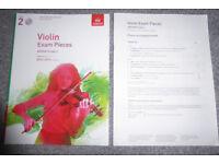Grade 2, Violin Exam Pieces 2016-2019 syllabus
