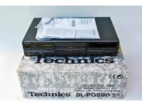 Technics SL-PG590 Compact Disc player, with box, remote and operating instructions