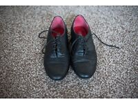 Black Brogue Style size 5 shoes