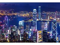 London to Hong Kong - Discount Flight Tickets - Depart February