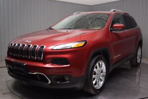 2015 Jeep Cherokee LIMTED V6 CUIR TOIT PANO GROSSE ECRAN