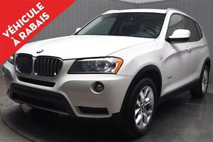 2013 BMW X3 XDRIVE MAGS TOIT PANORAMIQUE CUIR