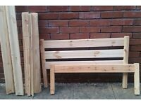 single bed pine frame. In excellent condition
