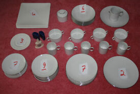 Quality Crockery, plates, saucers, mugs etc. by Thomas of Germany