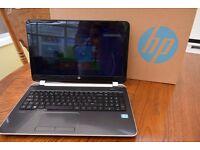Laptop HP Pavilion 15'' Notebook PC i3 Intel with 6GB RAM 500GB Hard Drive Windows 8 Original Box