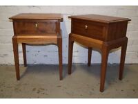 Stag bedside cabinets (DELIVERY AVAILABLE)