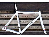 Condor Leggero Team Issue Carbon Frameset 55cm 3T Doric Carbon Seatpost Very clean