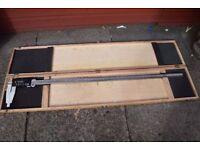 """1000mm 40"""" Digital Caliper Long Vernier LCD Display Metric/Imperial Engineering tool"""