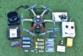 Drone - DJI F550 Flame Wheel Hexacopter - READY TO FLY COMPLETE RIG