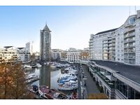 Chelsea Harbour SW10. A bright four double bedroom penthouse apartment to rent. Short/Long Let
