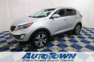 2013 Kia Sportage EX/AWD/HEATED SEATS/USB OUTLET!!