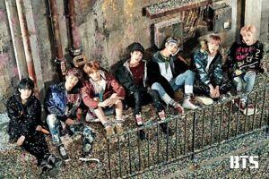 BTS - KPOP KOREAN BOY BAND POSTER, Size 24x36
