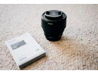 Sony FE 1.8/50 50mm