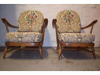 Ercol Sofa With Two Armchairs (DELIVERY AVAILABLE)
