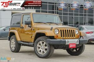 2011 Jeep Wrangler 70th Anniversary                   HEATED SEA