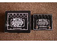 Electro Harmonix Metal Muff pedal with top boost