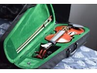 New Widsor Violin 4/4 with case and bow