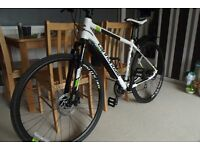 Cannondale CX3 Hybrid (medium) 2015 used twice