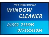 Matt Wilson Licensed window cleaner , 30 years experience,