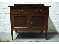 20th Century Cabinet With Single Drawer (DELIVERY AVAILABLE)