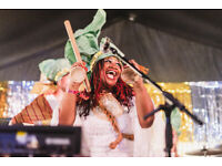 Vocalist wanted for psychedelic Afro-Latin party band with BBC6 play