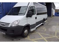 Iveco Daily 2008 40c12 16 seater Coach Style Minibus