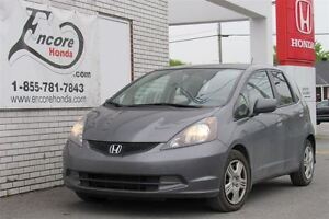 2013 Honda Fit LX/JAMAIS ACCIDENTÉ/UN PROPRIÉTAIRE/