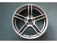 New BMW M Sport 313M front alloy wheel for 3 series E92 (coupe) & E93 (convertible) 2008-2012