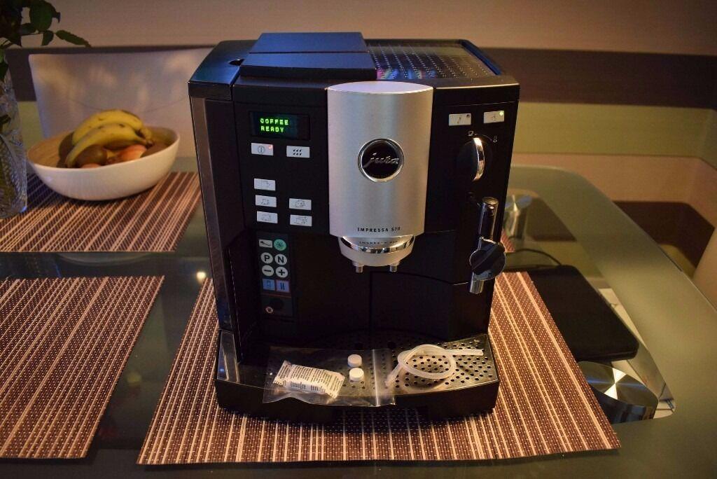 jura impressa s70 bean to cup coffee machine cappuccino. Black Bedroom Furniture Sets. Home Design Ideas