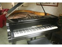 Grand piano made by Franz Oeser